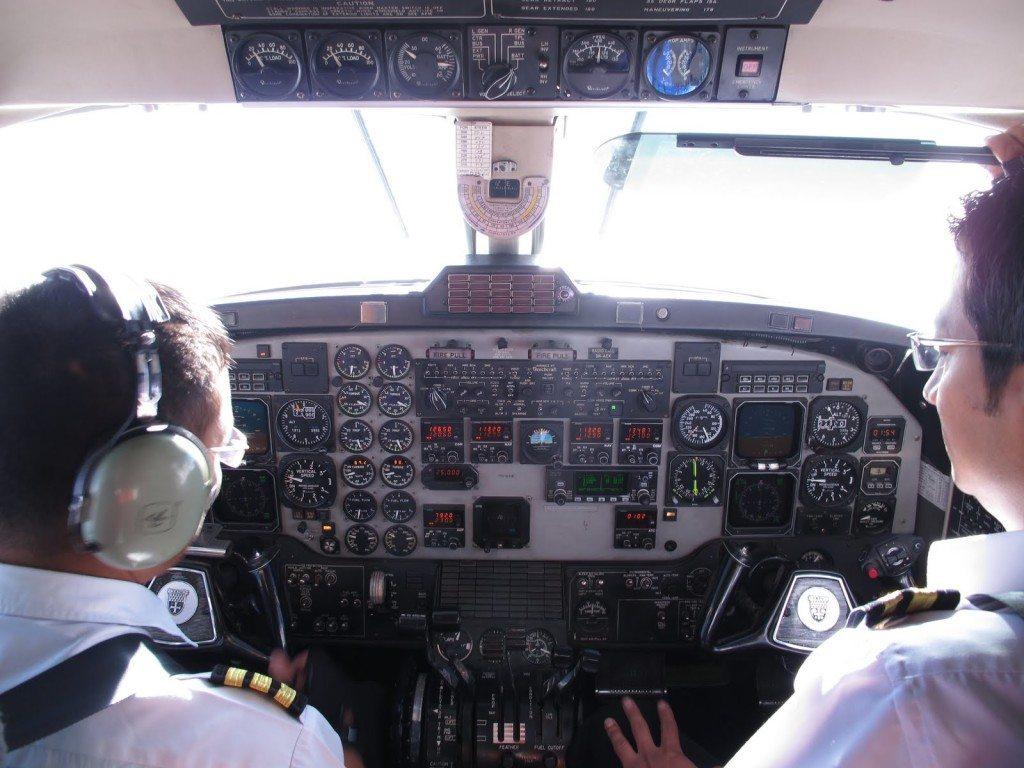 Flying over Everest 2