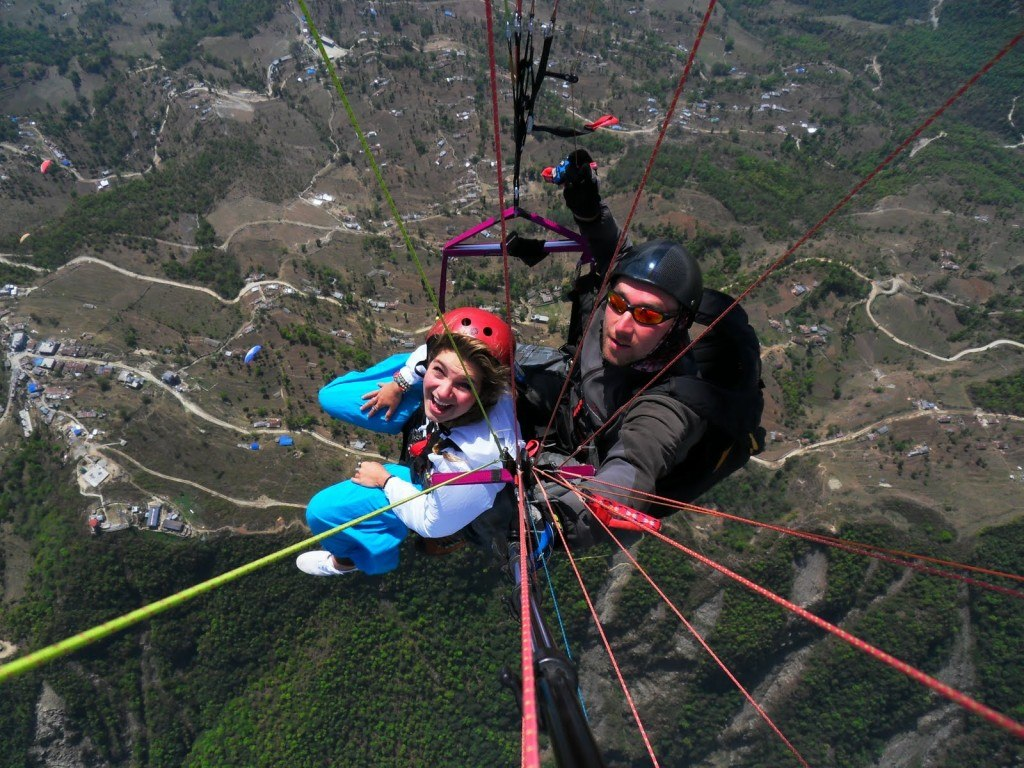 Paragliding in Pokhara 1