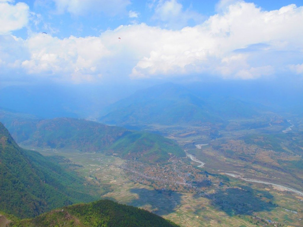 Paragliding in Pokhara 11