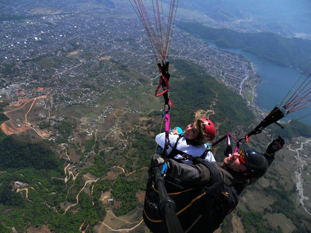 Paragliding in Pokhara 12