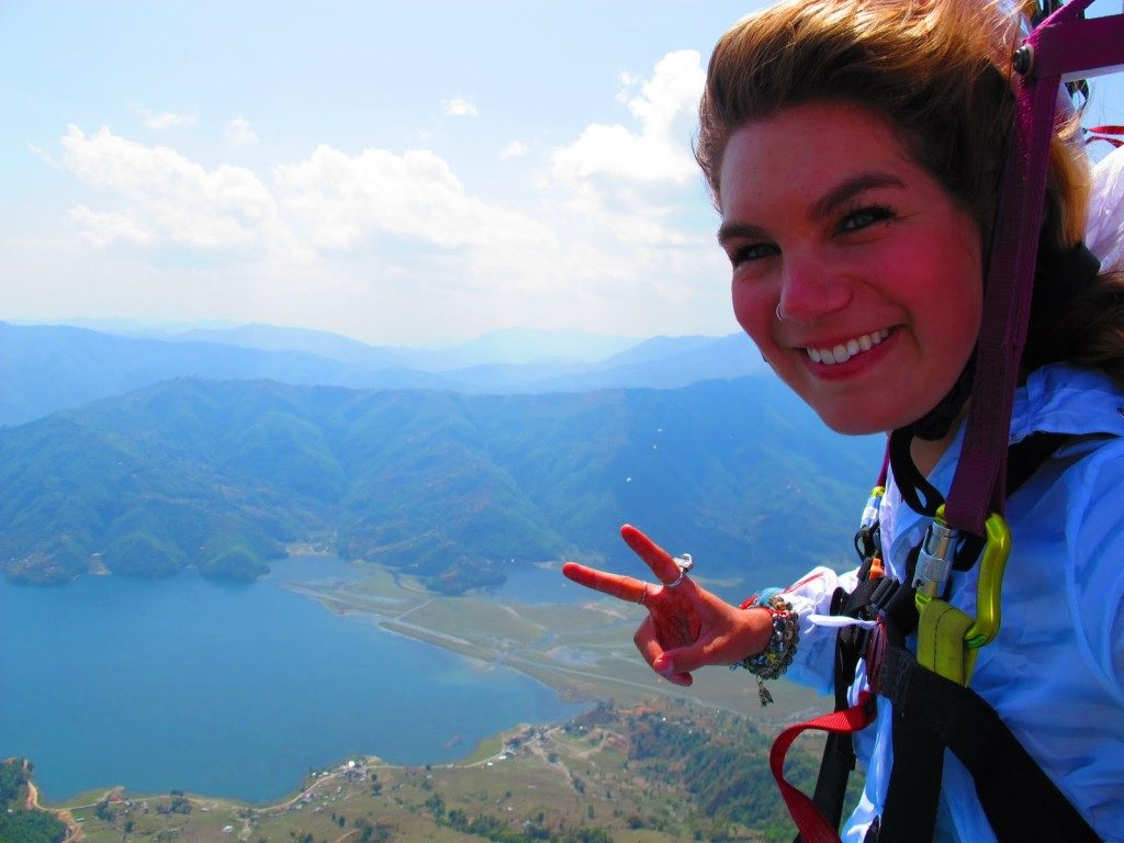 Paragliding in Pokhara 8