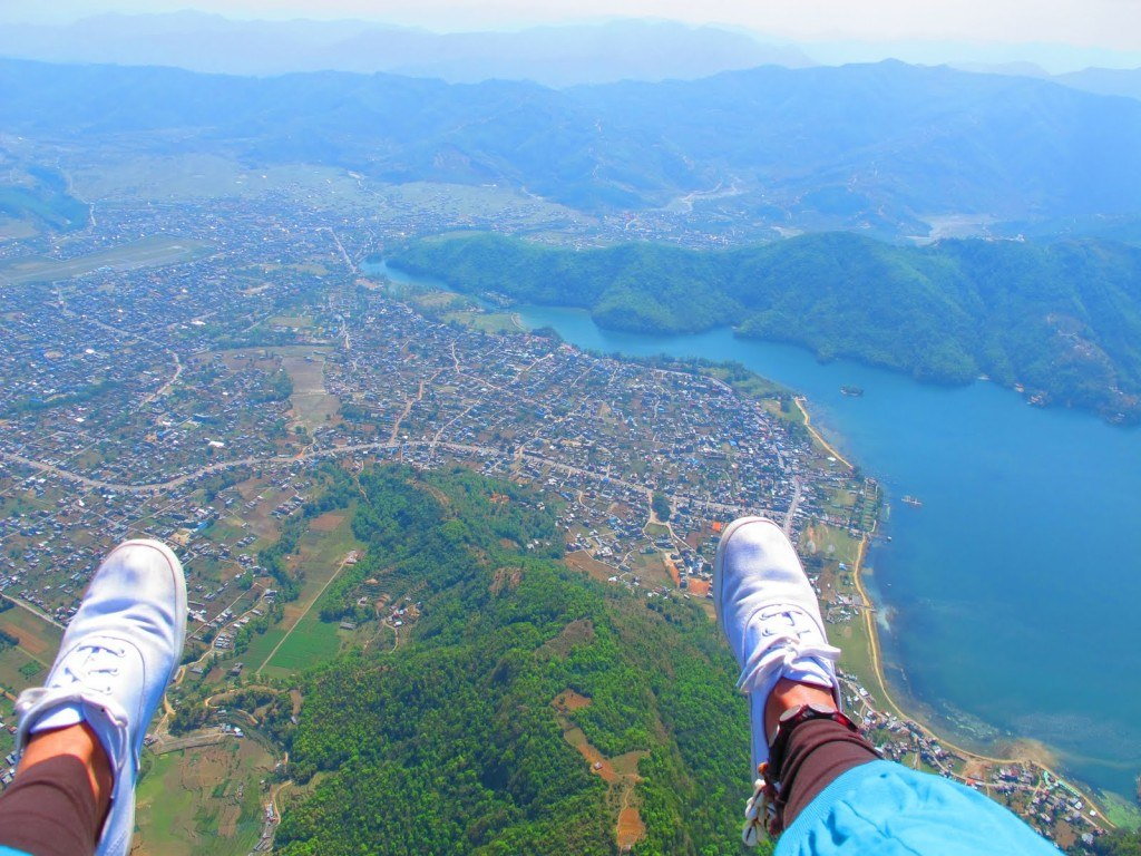 Paragliding in Pokhara 9