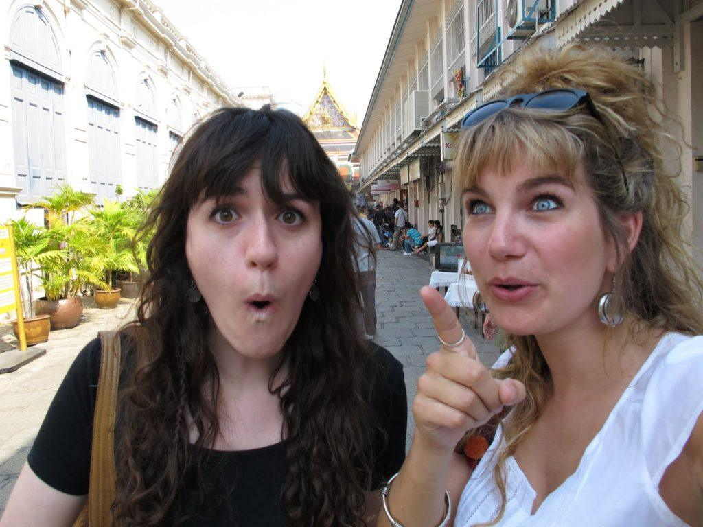 Brenna and Kerri in Bangkok