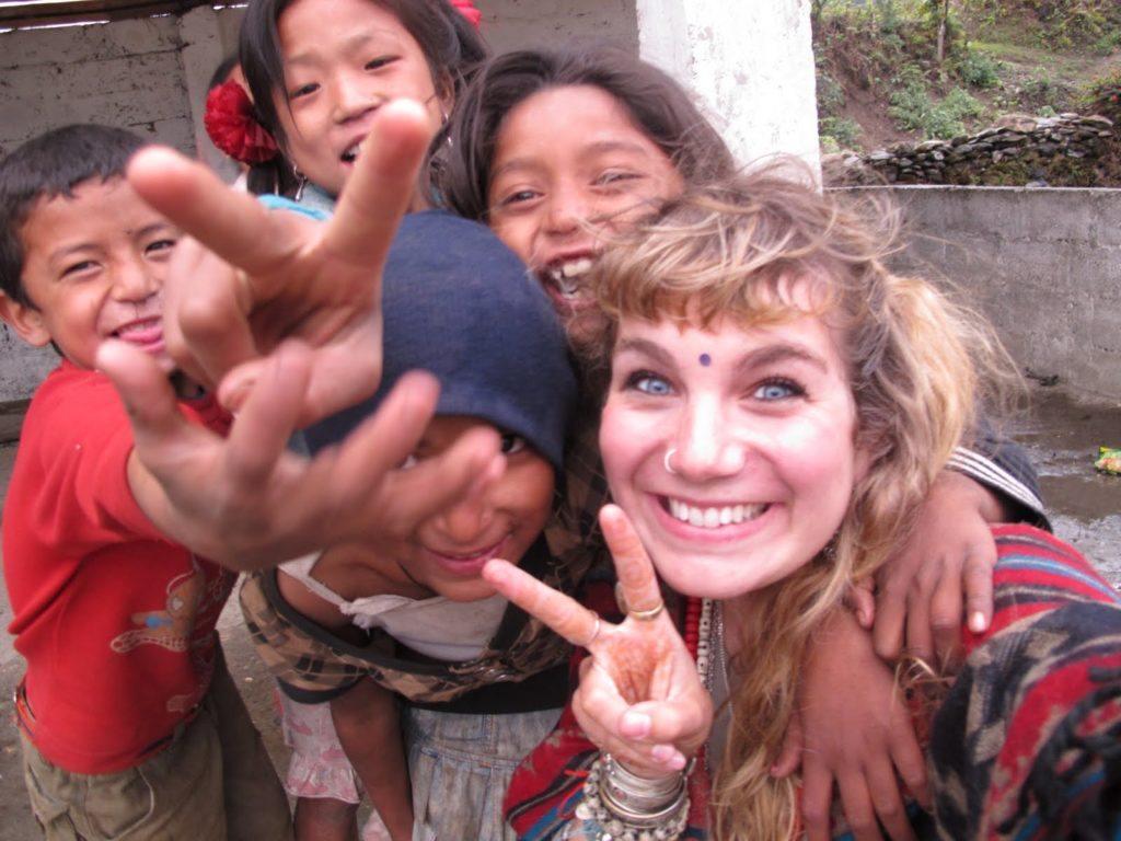 Brenna in Nepal