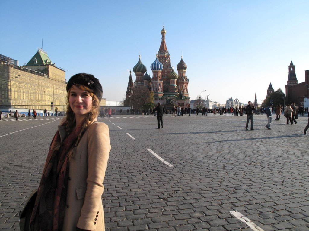 Brenna in Moscow