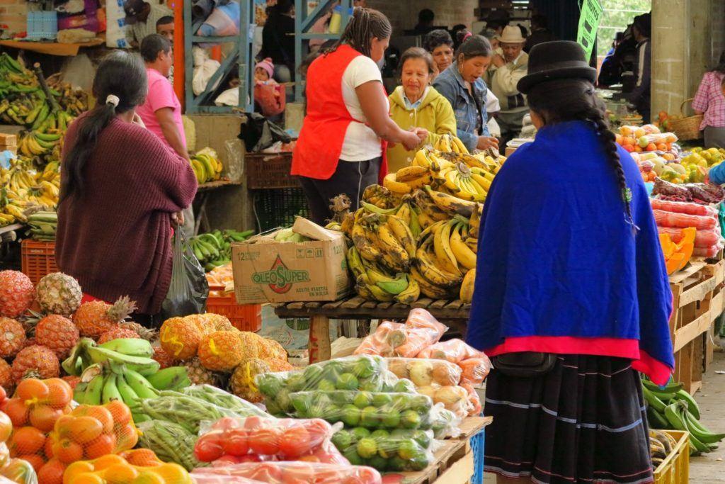 Silvia Colombia Market 10
