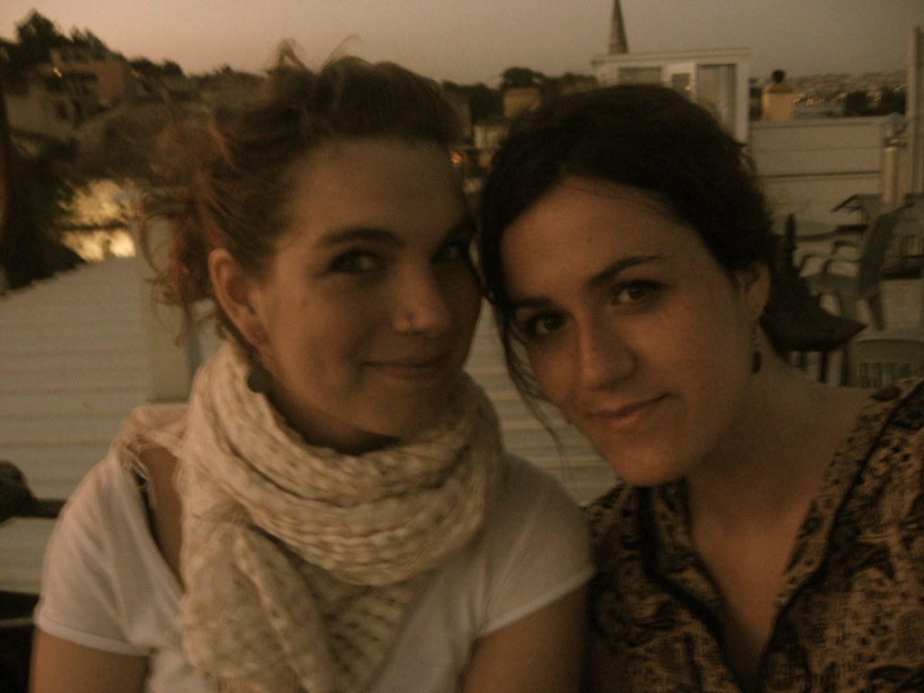 Brenna and Kerri Turkey