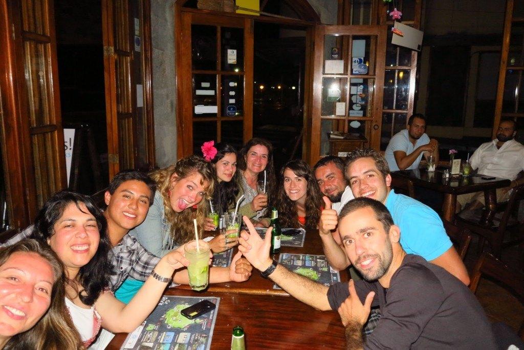 Brenna in Galapagos
