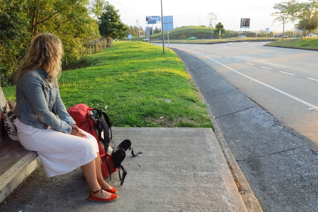 Hitchhiking in Colombia 1