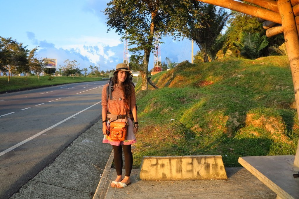 Hitchhiking in Colombia 2