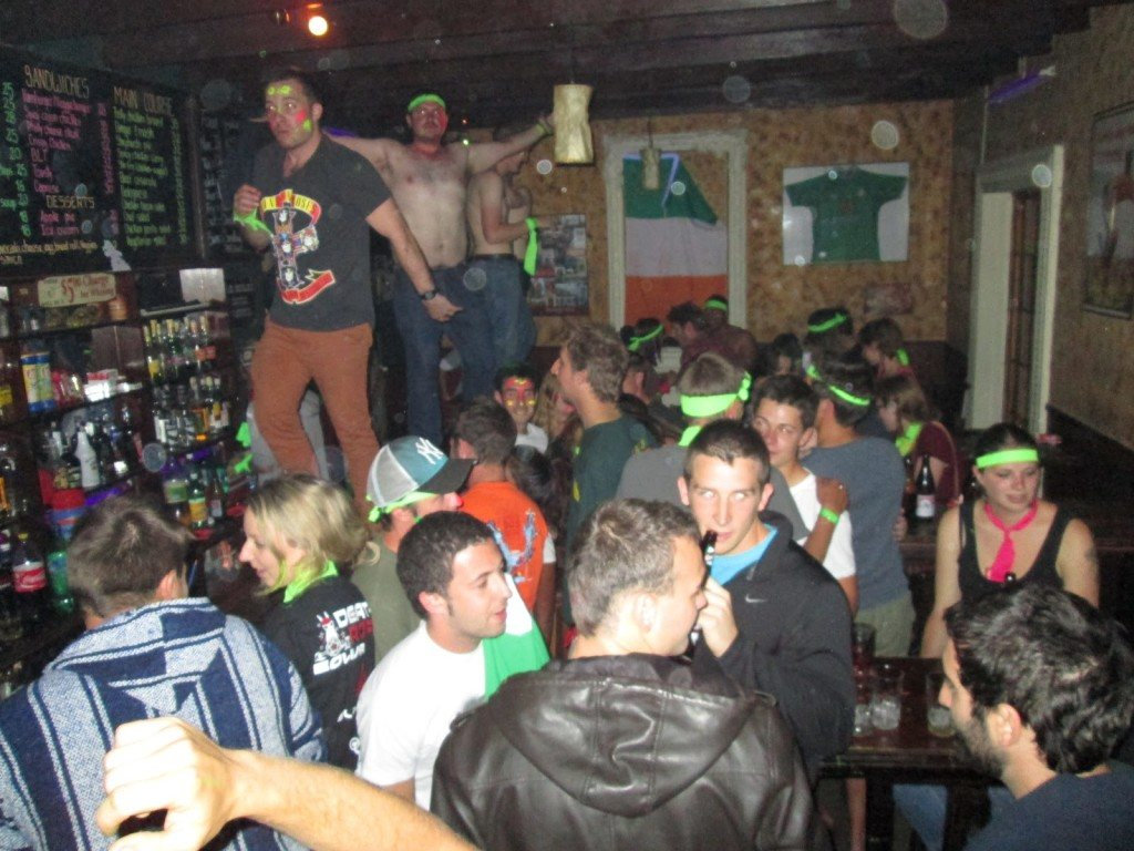 Party in Bolivia