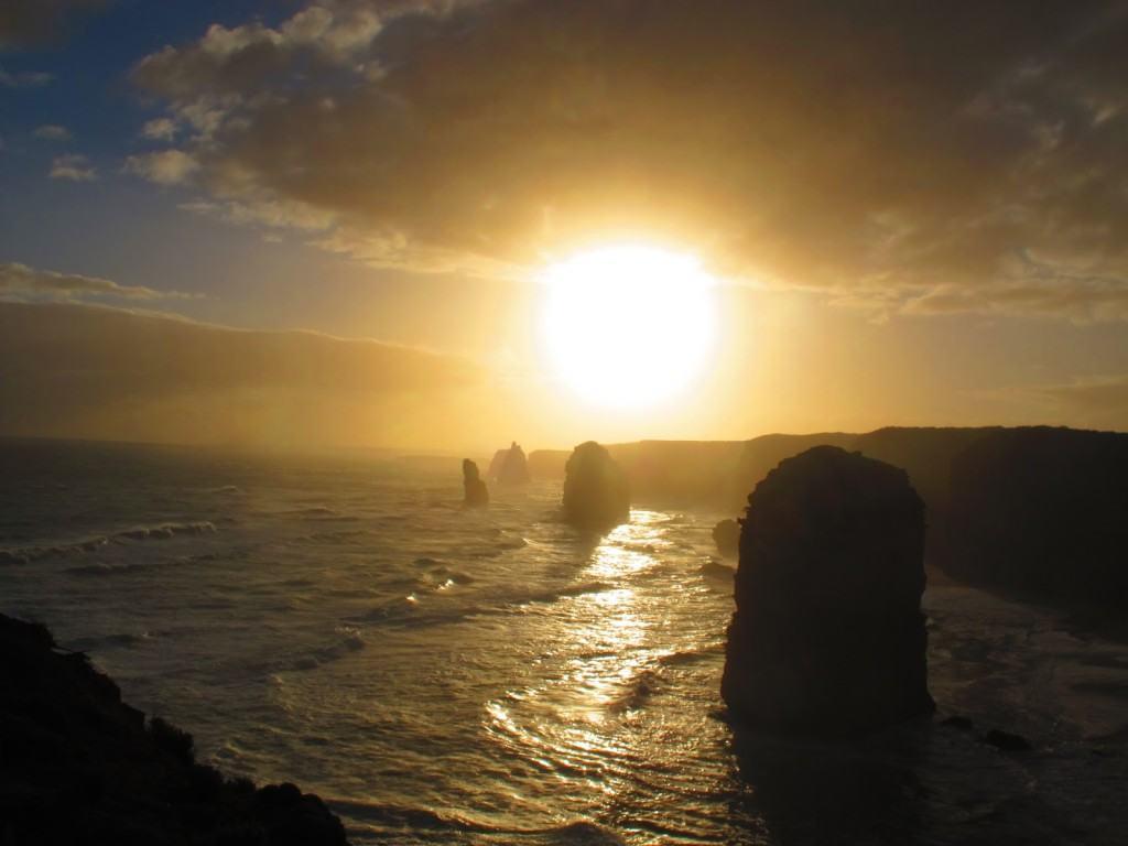 Sunset in Australia