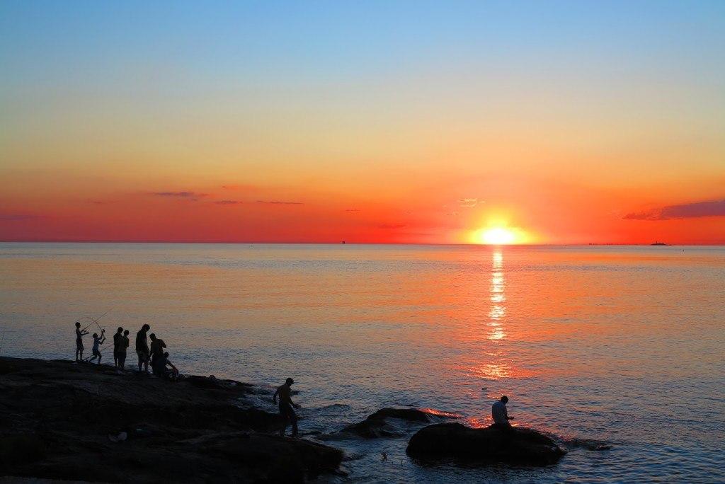 Sunset in Uruguay