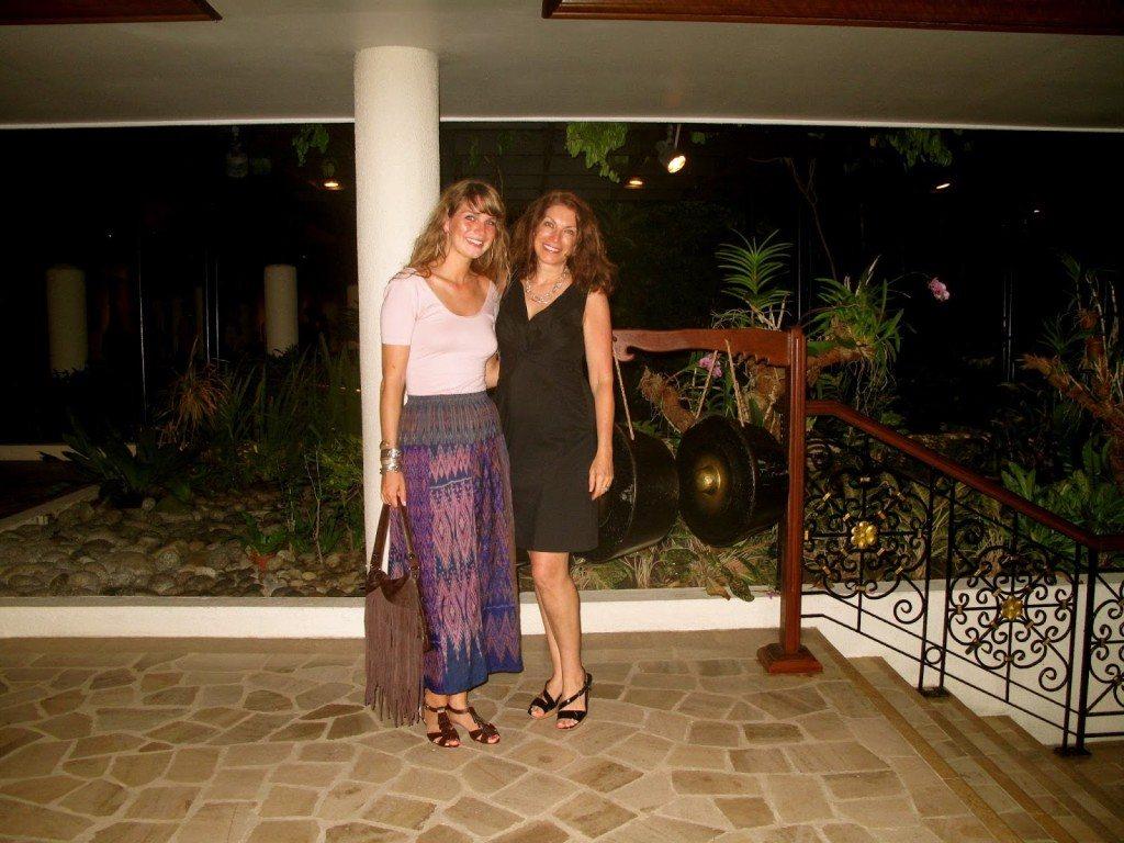 Brenna and Linda Borneo