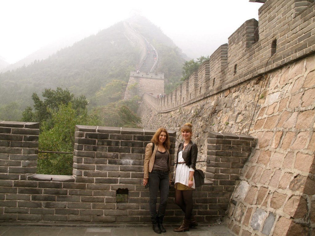 Brenna and Linda China