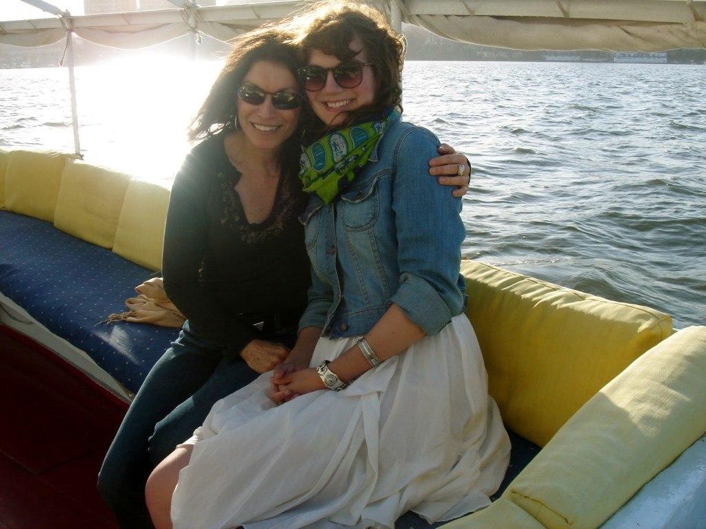 Brenna and Linda Egypt