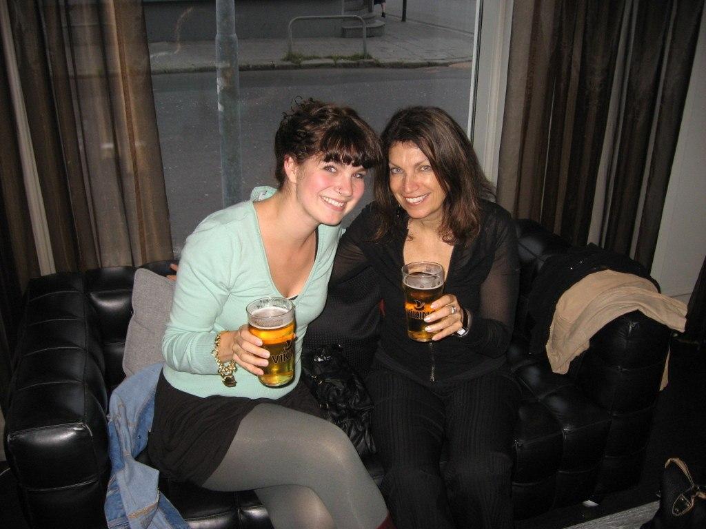 Brenna and Linda Iceland