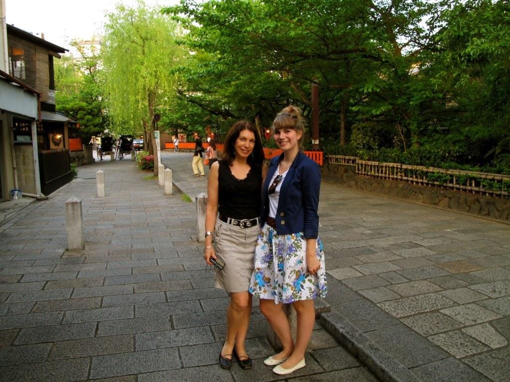 Brenna and Linda Kyoto