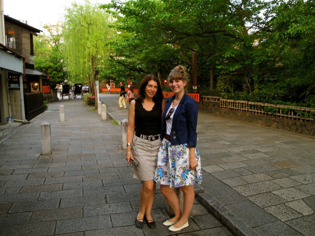 Brenna and Linda Kyoto