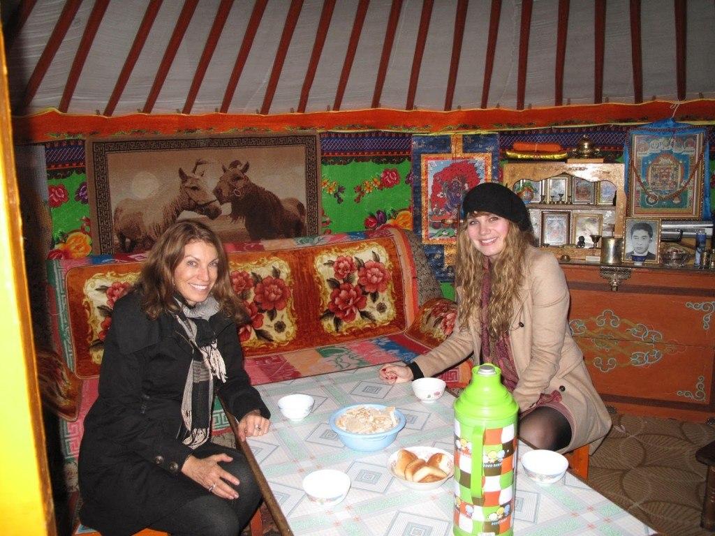 Brenna and Linda Mongolia