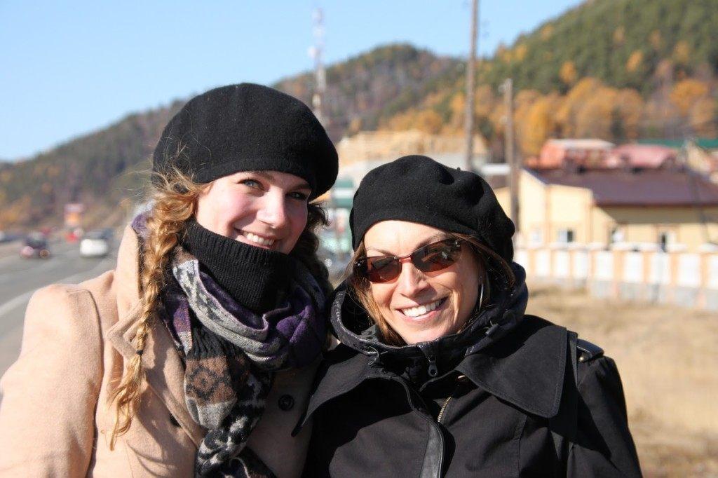 Brenna and Linda Russia