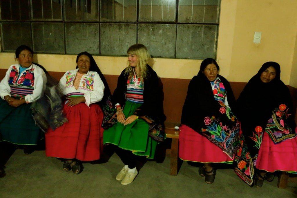 Brenna in Peru