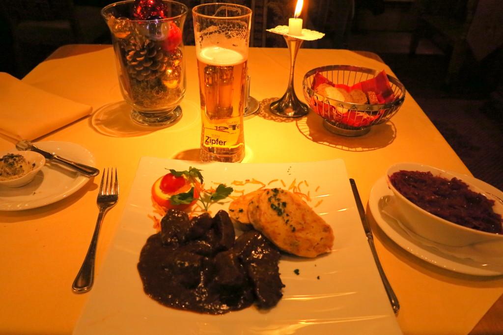 Innsbruck meal