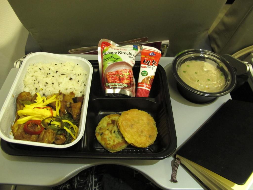 Korean Airplane Food