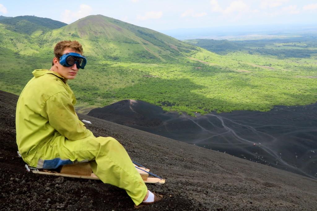 Leon Volcano Boarding 12