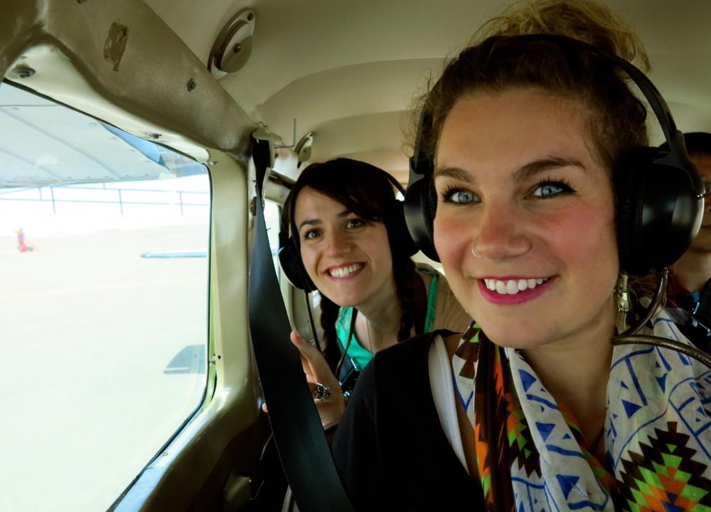 Plane in Peru