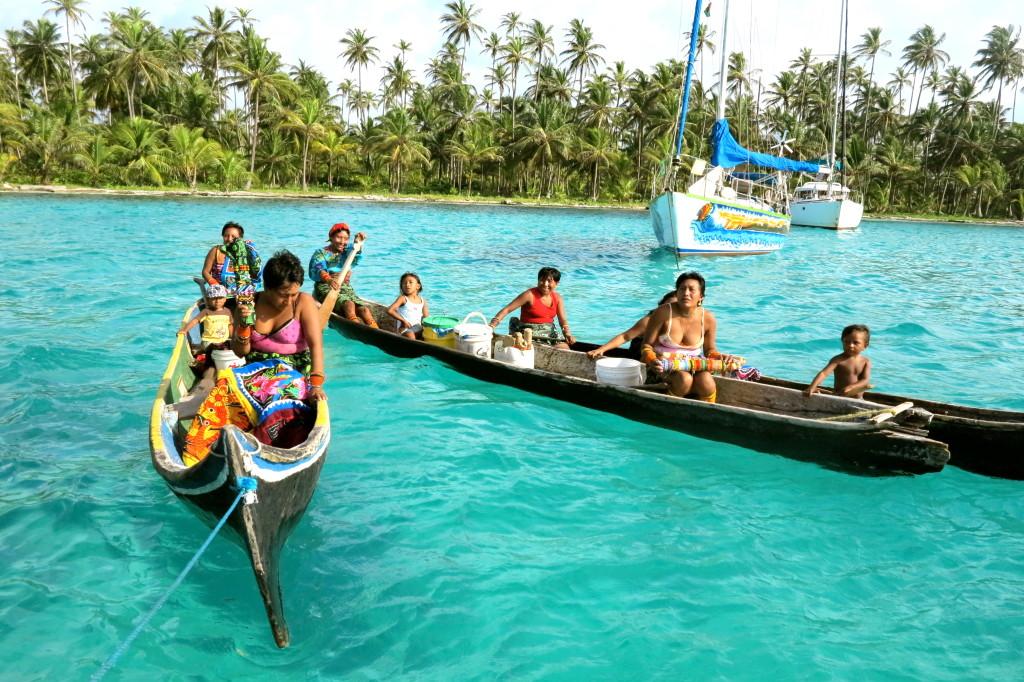 Sailing From San Blas 1