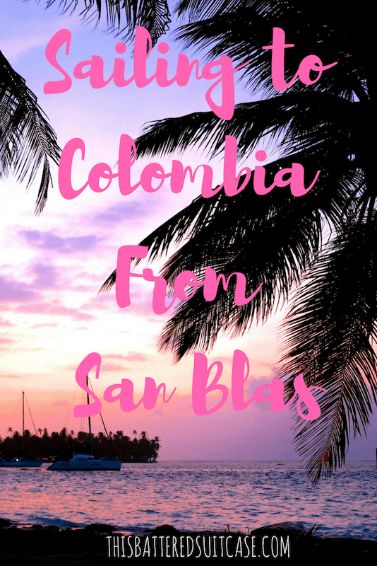 Sailing to Colombia From San Blas