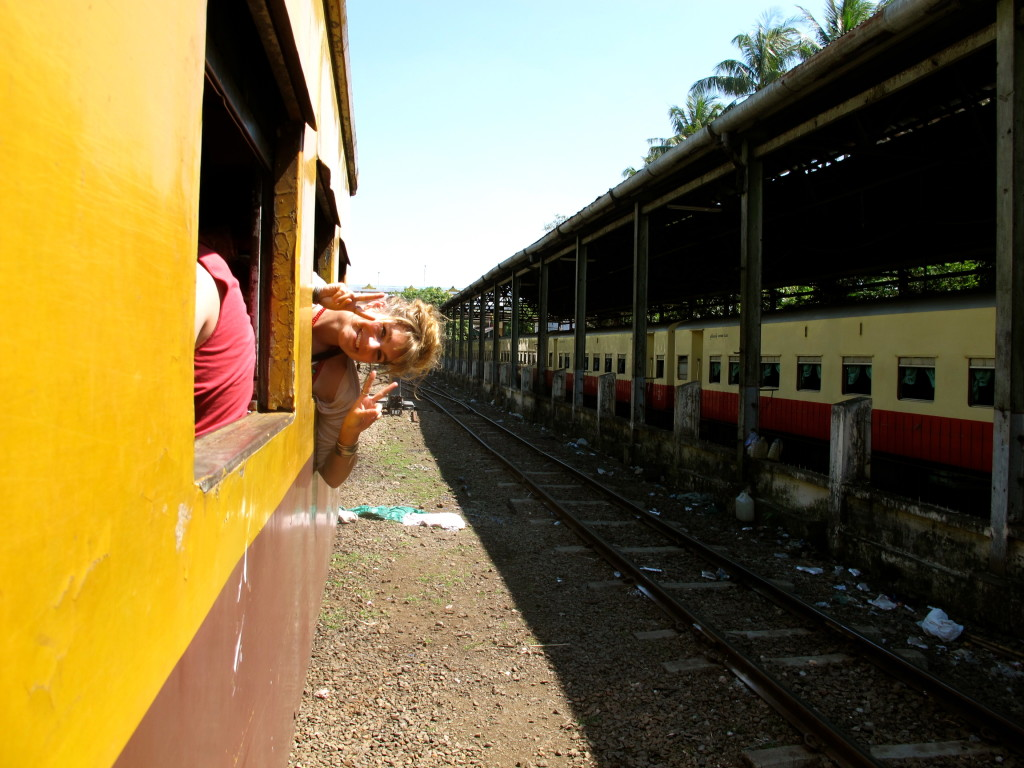 Yangon Circle Train 13
