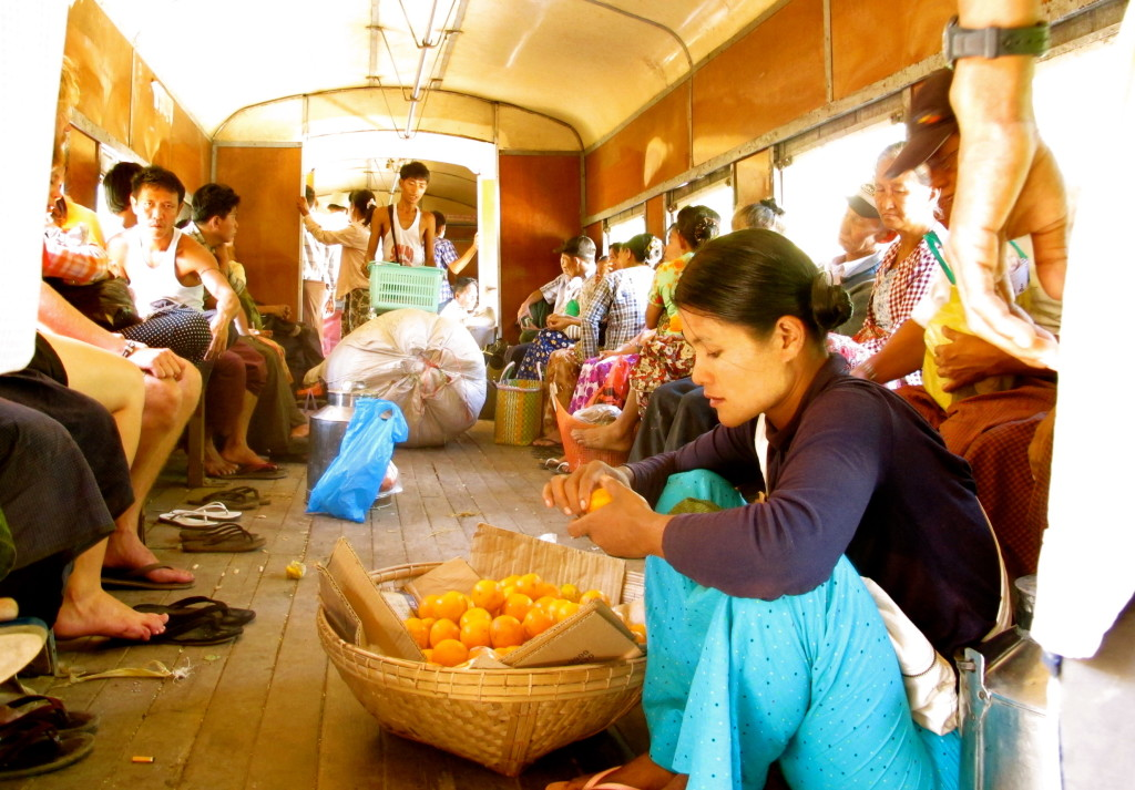 Yangon Circle Train 15