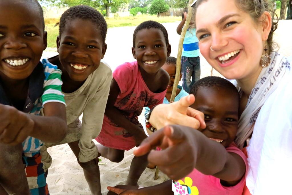 Kids in Botswana 7