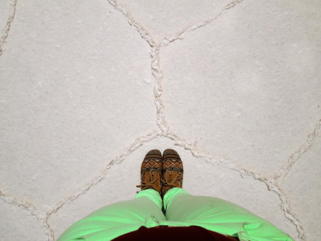 Bolivia Feet