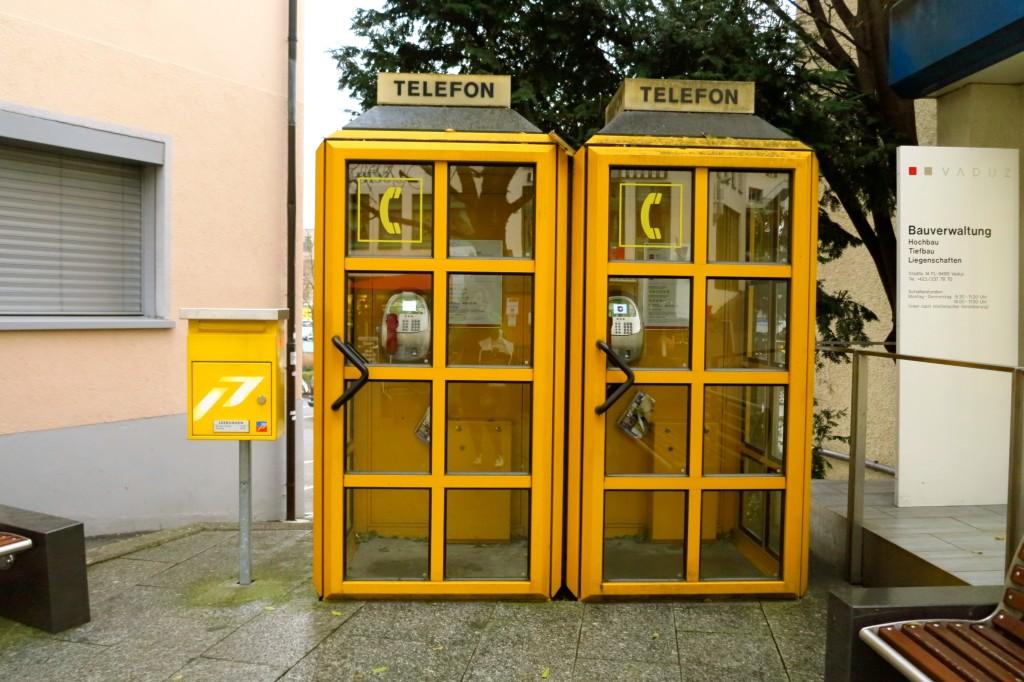 Liechtenstein Phone Booth