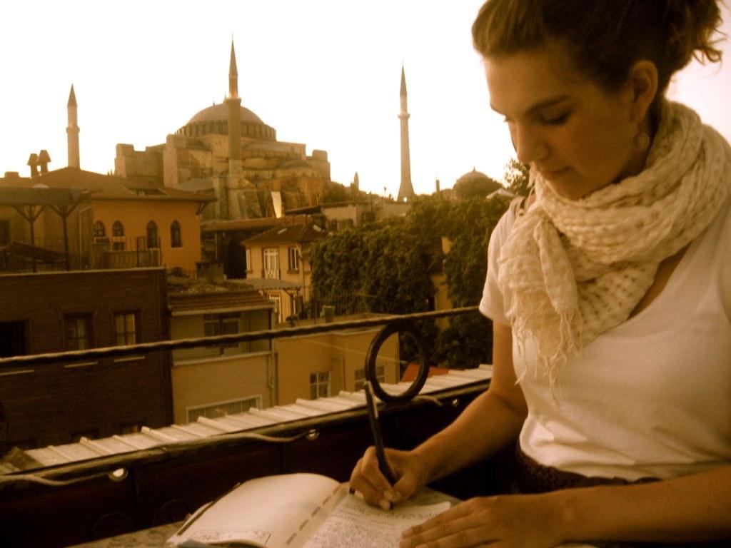 Writing in Istanbul