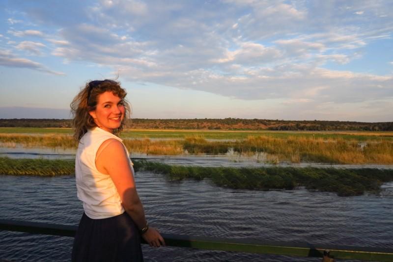 Brenna in Botswana - travel quote
