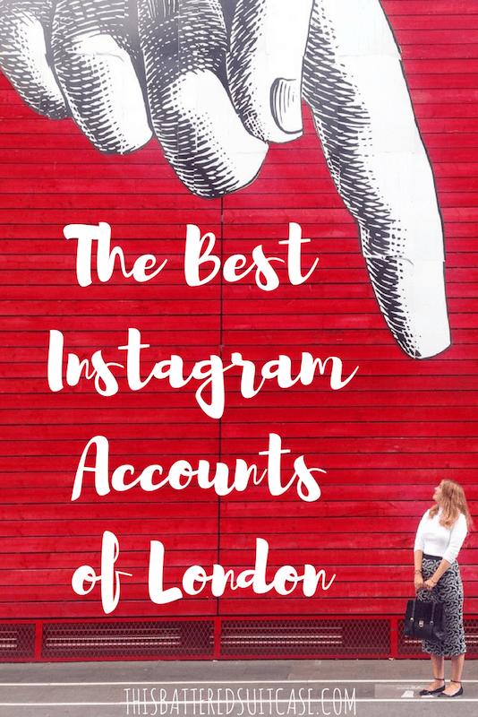 The Best Instagram Accounts of London 1