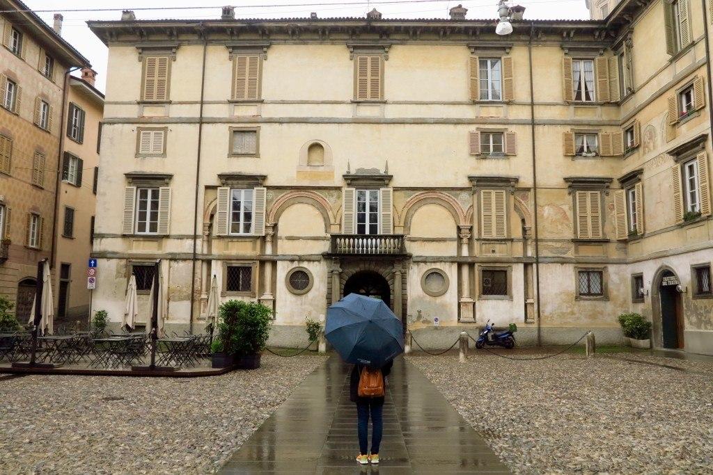 Bergamo in the Rain 1