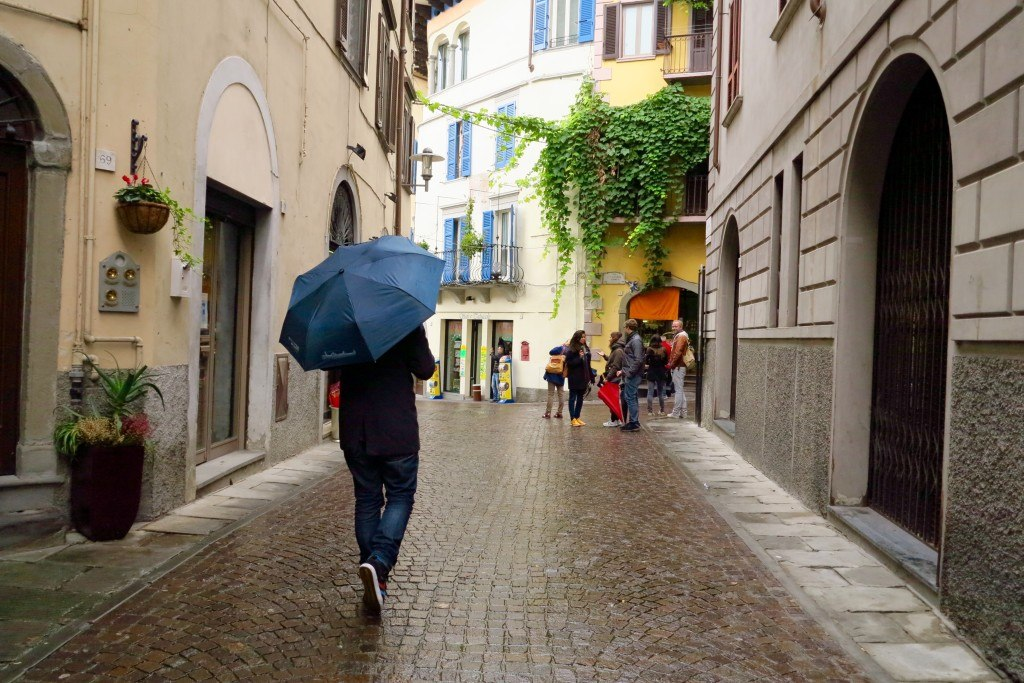 Bergamo in the Rain 10