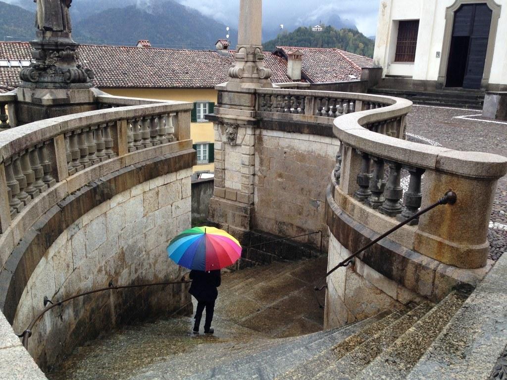 Bergamo in the Rain 12
