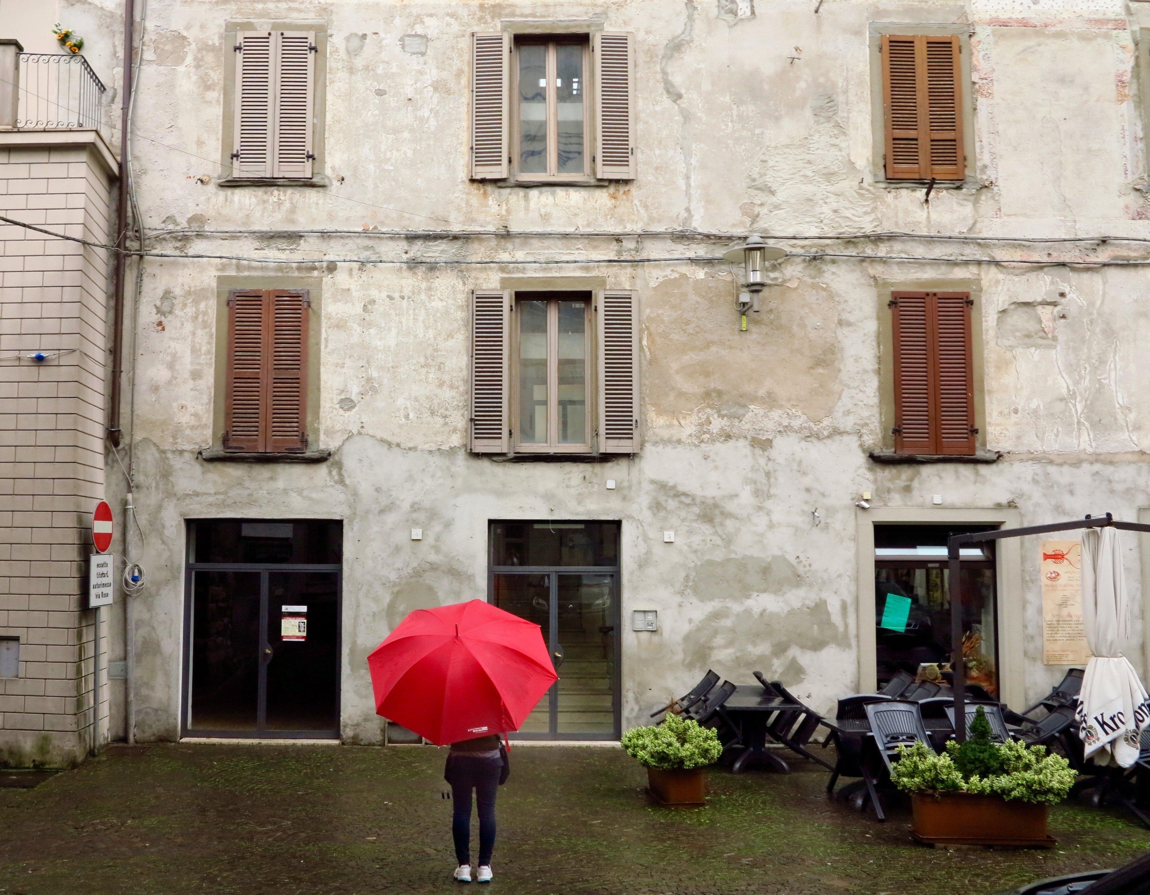 Bergamo in the Rain 13