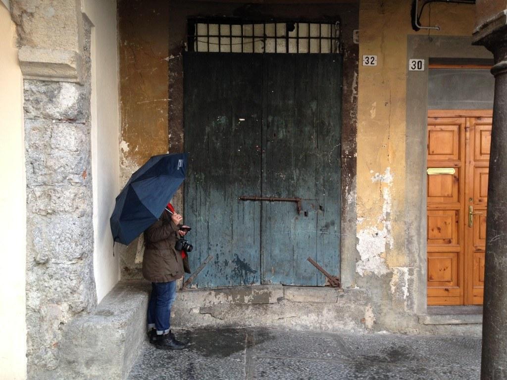 Bergamo in the Rain 14