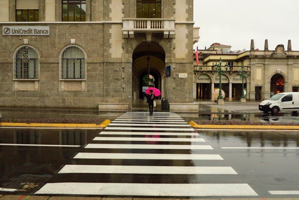 Bergamo in the Rain 2