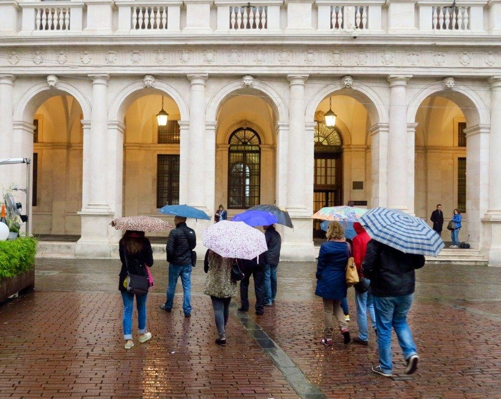 Bergamo in the Rain 4