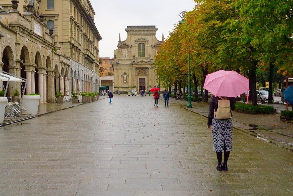 Bergamo in the Rain 6