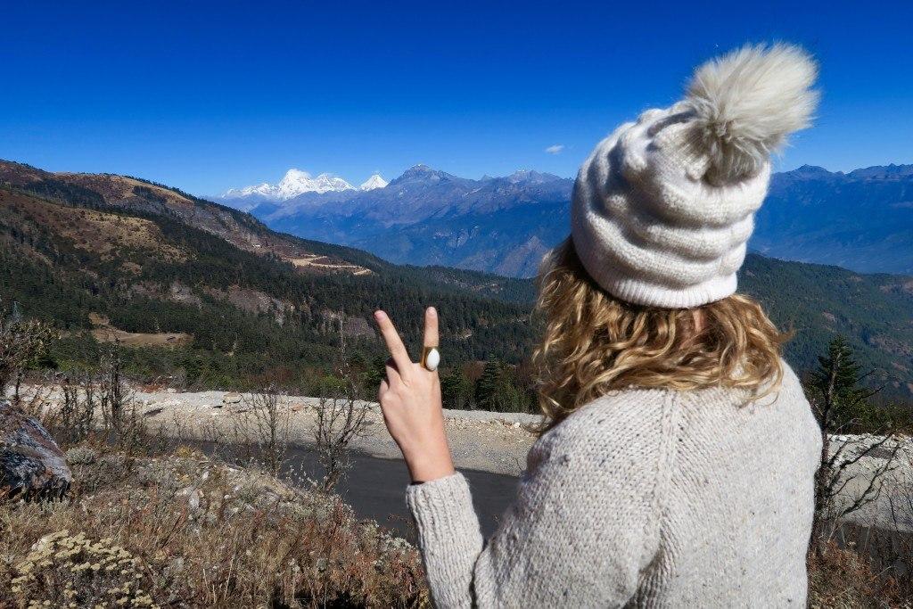 Brenna in Bhutan