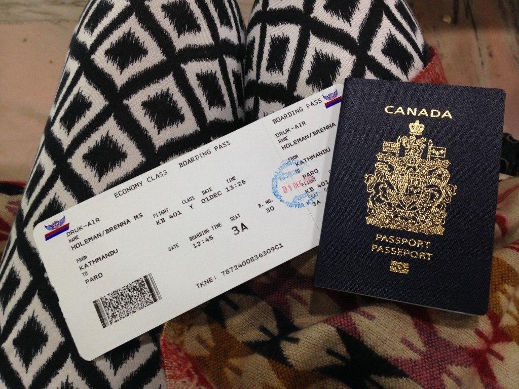 Getting a visa to Bhutan 5